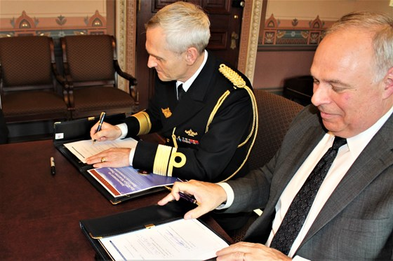 Norway and The US signed a Bilateral Maritime Arrangement.