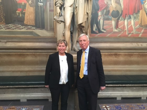 State Secretary Tone Skogen met Minister Howe at the House of Lords for bilateral discussions.
