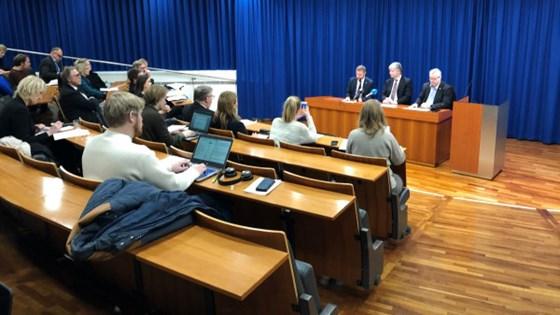 Pressekonferanse