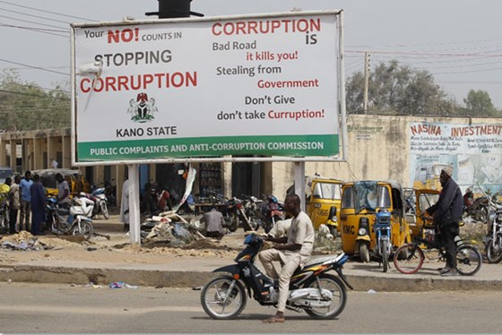 Clear warnings against corruption.