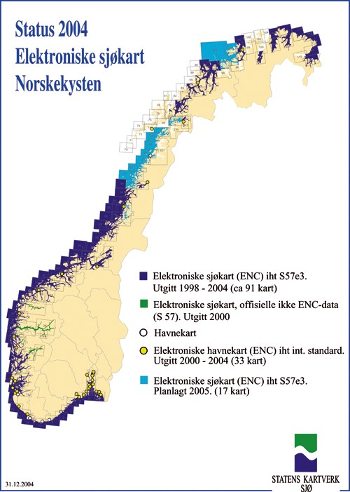 kart norskekysten St.meld. nr. 14 (2004 2005)   regjeringen.no kart norskekysten