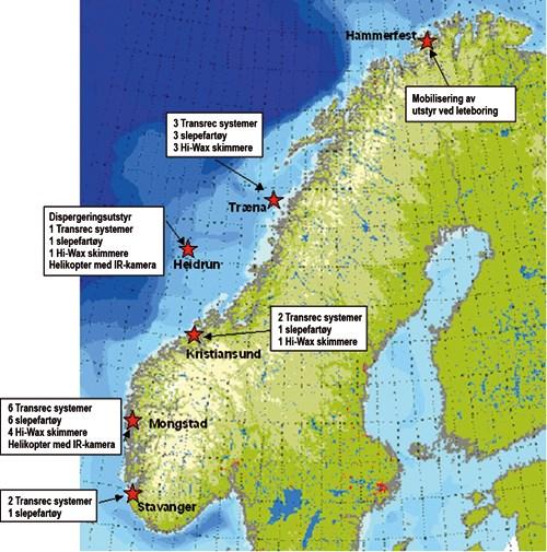 nornefeltet kart St.meld. nr. 14 (2004 2005)   regjeringen.no nornefeltet kart