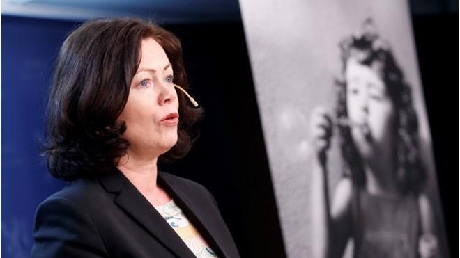 Barne-og likestillingsminister Solveig Horne