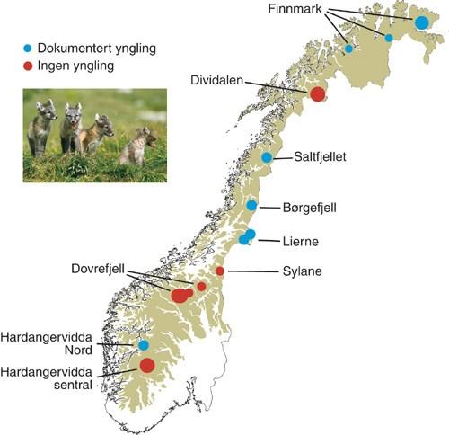 kart over nasjonalparker norge St.meld. nr. 25 (2002 2003)   regjeringen.no kart over nasjonalparker norge