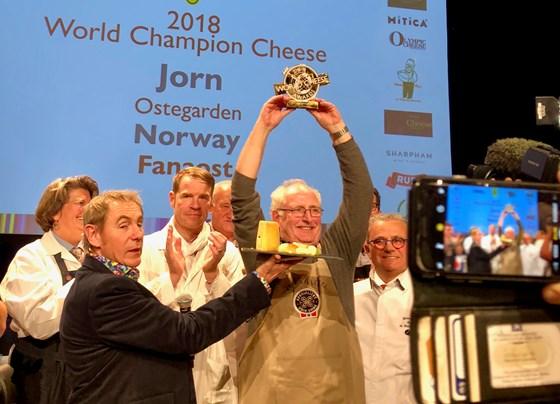 Gullet gikk til Fanaosten fra Ostegården og Jørn Haslund.