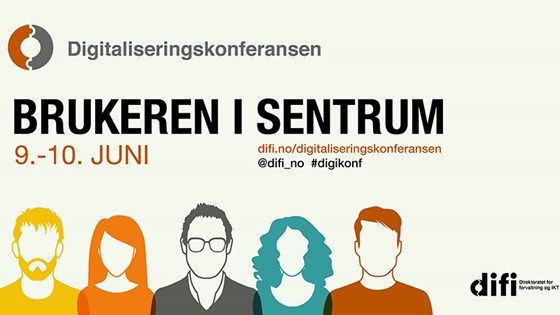 Plakat for digitaliseringskonferansen