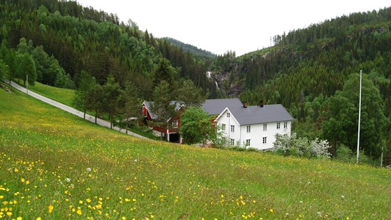 The Norwegian farmer is the steward of a cultural landscape shaped by generations of use.