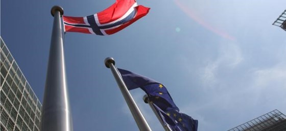 Flag Norway EU