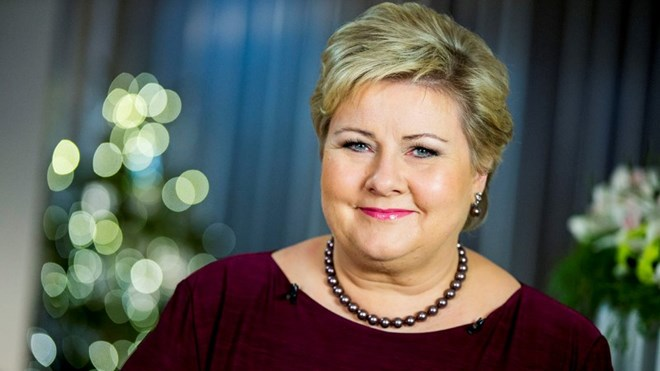 Erna Solberg 15 female leaders of the world