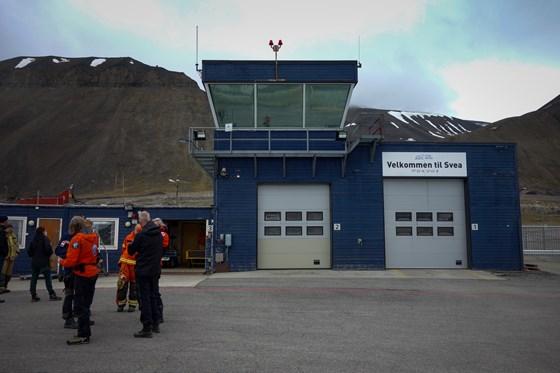 Flytårnet på Svea flyplass