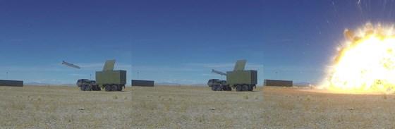 Den siste testen i år med JSM ble gjennomført mot et landmål med vellykket resultat.