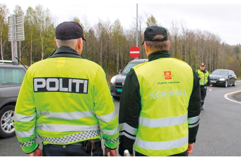 9bcdaaf9 Figur 4.1 Samarbeidskontroll, politiet og Statens vegvesen