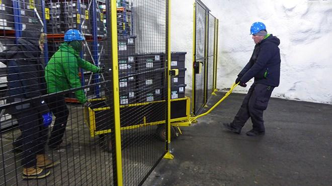 Svalbard Global Seed Vault returns seeds to Syrian Gene Bank.