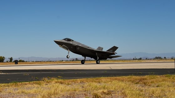 Norges femte F-35 kampfly.