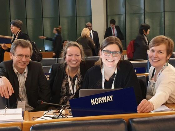 Den norske delegasjonen var representert ved Landbruks- og matdepartementet, Norsk institutt for bioøkonomi, Landbruksdirektoratet, Fridtjof Nansen Institutt og Norges ambassade i Roma.