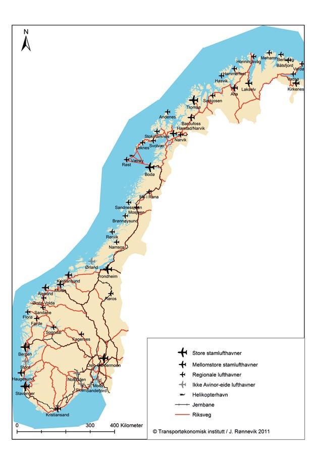 kart over jernbanen i norge NOU 2011: 3   regjeringen.no kart over jernbanen i norge