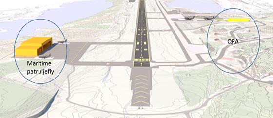 Evenes flystasjon blir fremskutt operasjonsbase for kampfly og hovedbase for maritime patruljefly.