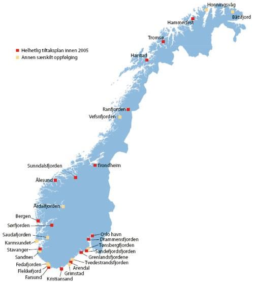 norske fjorder kart St.meld. nr. 14 (2006 2007)   regjeringen.no norske fjorder kart