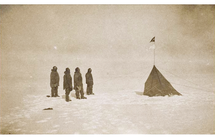 Figure 3.1 Roald Amundsen's South Pole Expedition, 1911.
