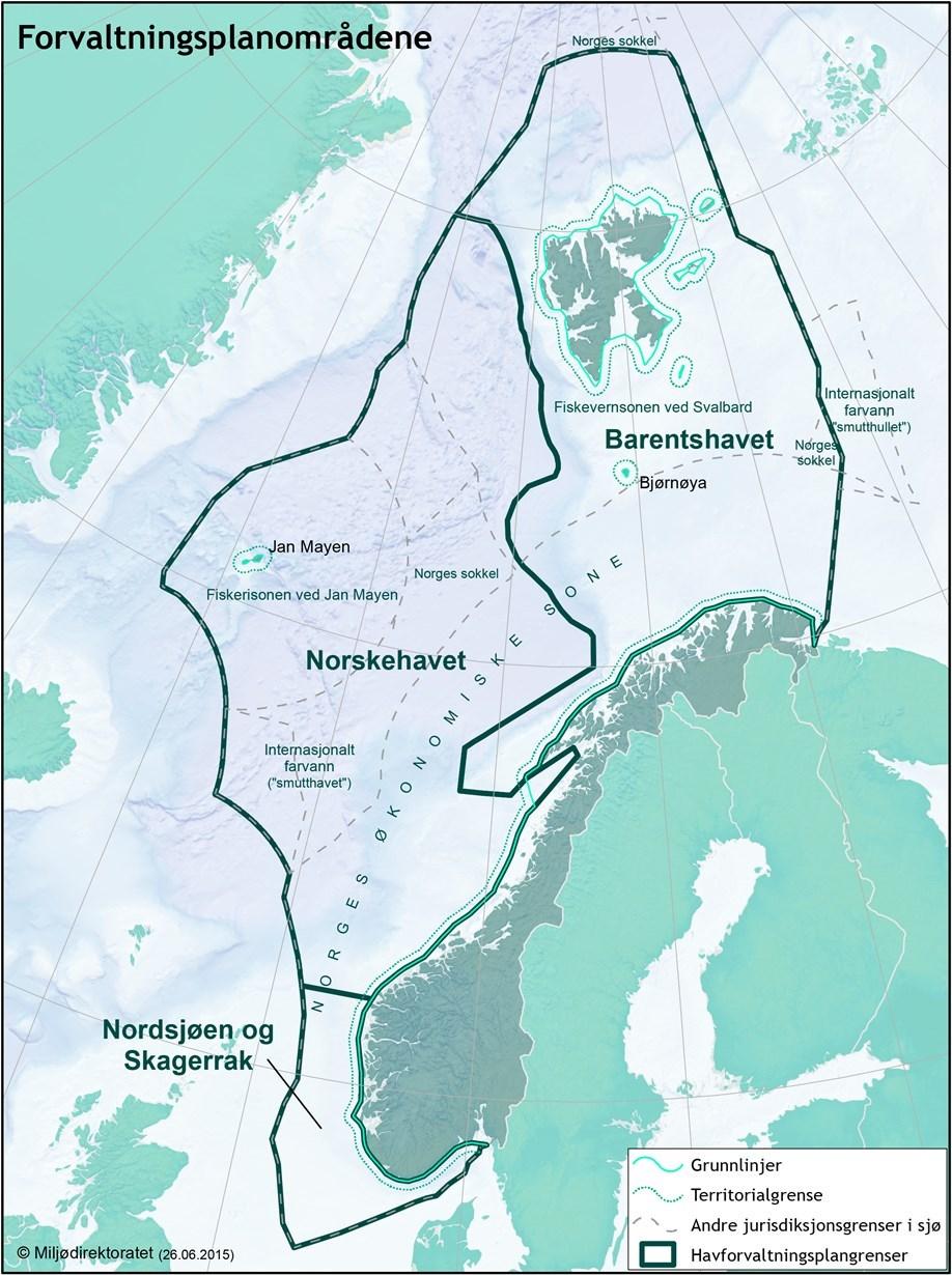 digitalt kart norge Bedre digitale kart over norske havområder   regjeringen.no digitalt kart norge