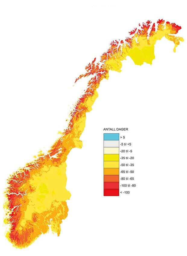 kart over isbreer i norge Meld. St. 33 (2012–2013)   regjeringen.no kart over isbreer i norge