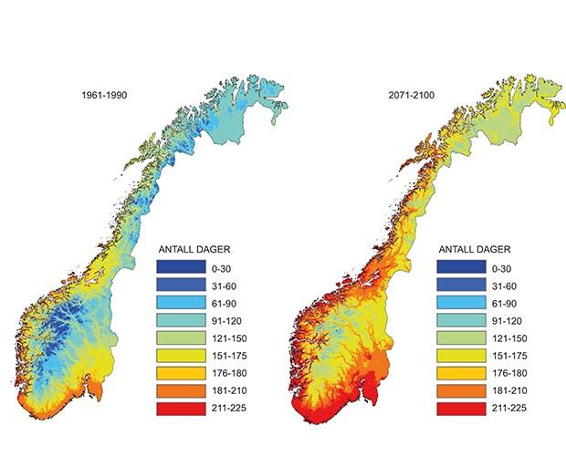 flått utbredelse kart Meld. St. 33 (2012–2013)   regjeringen.no flått utbredelse kart