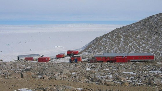 Troll – the Norwegian research station in Antarctica. Photo: Marie Korsvoll.