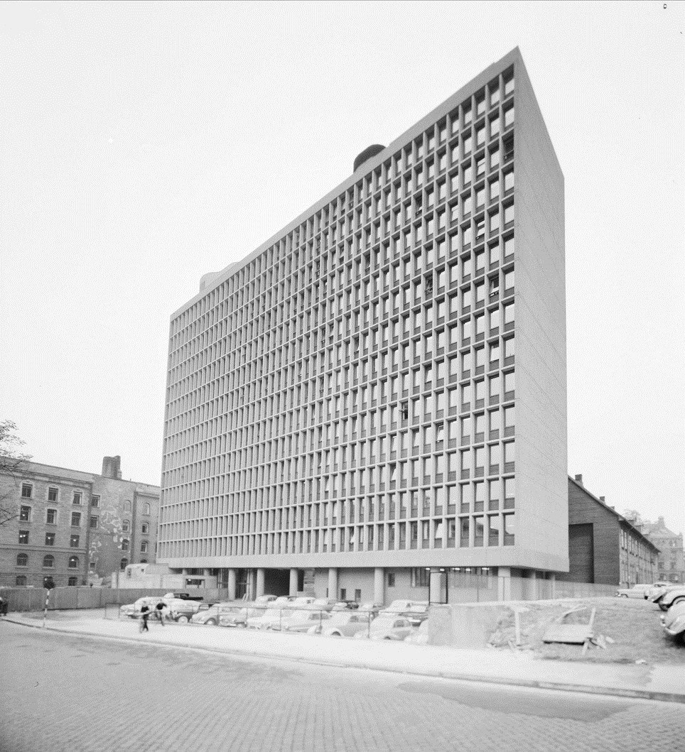 Høyblokken september 1959