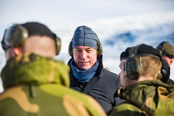 Minister of Defence Frank Bakke-Jensen.