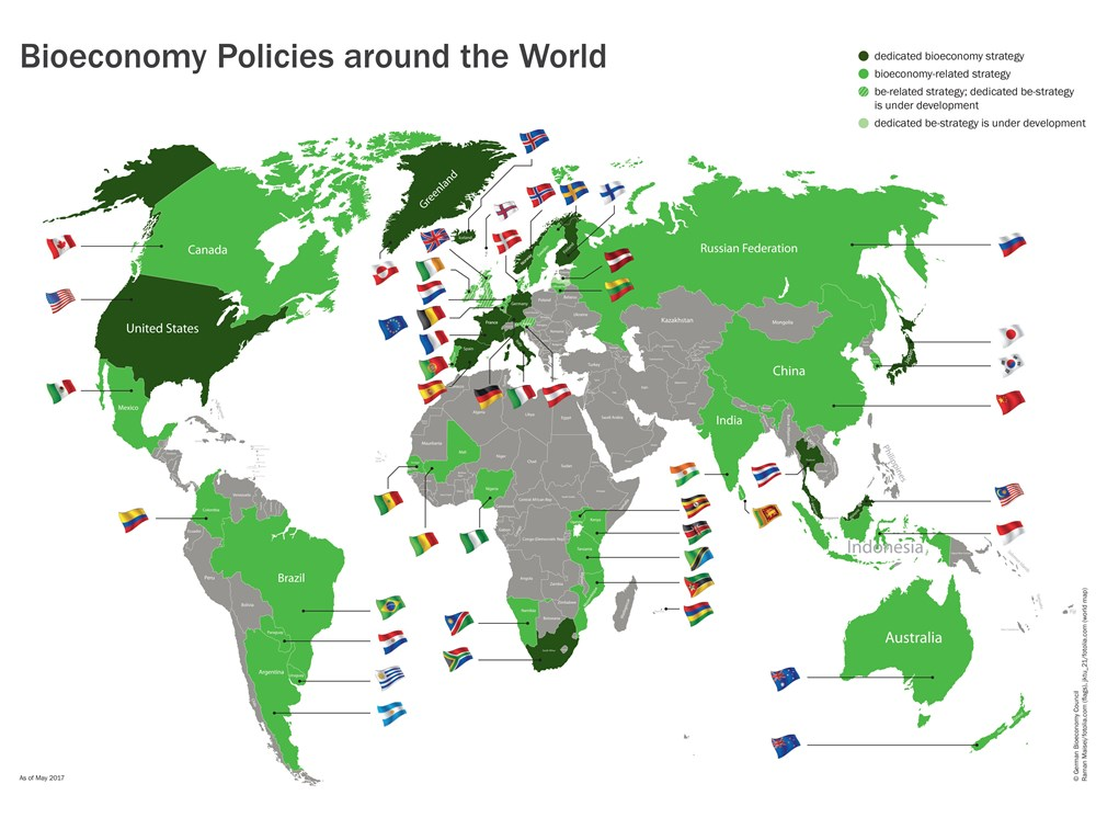 Bioeconomy Policies around the World.