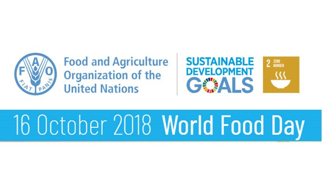 FAO-logo World Food Day 16.October 2018
