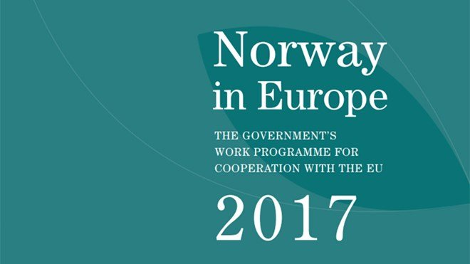 new product c2a07 dcb96 Norway in Europe - the Government s work programme for cooperation with the EU  2017 - regjeringen.no