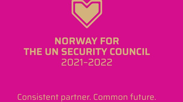 Norway for the UNSC: Consistent partner. Common future.