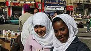 Young women taking part in the demonstrations at the Tahrir Square in Cairo, Egypt. Photo: Frode O. Andersen, MFA