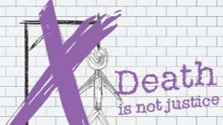 Illustration - against death penalty