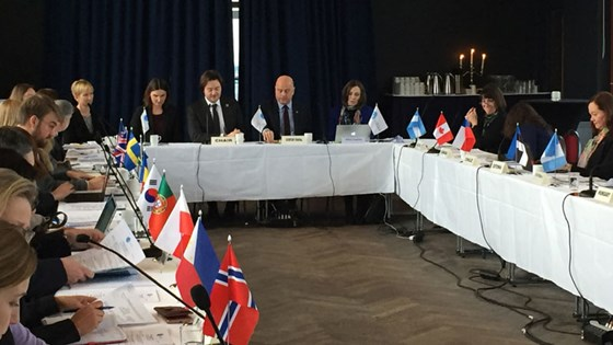 State Secretary Jens Frølich Holte Chairs the Community of Democracies Governing Council Meeting.