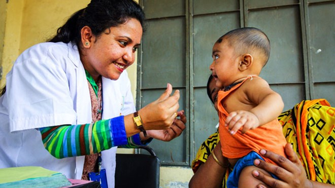 Bangladesh - vaksineprogram. Foto: Gavi The Vaccine Alliance