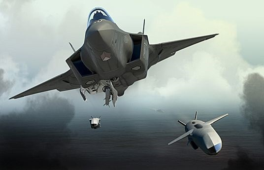F-35 Joint Strike Fighter and Joint Strike Missile.