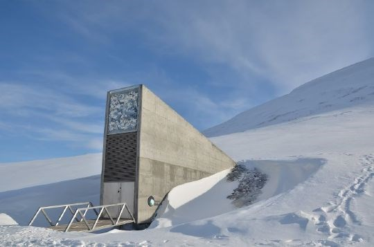 Svalbard Global Seed Vault, April-May 2012.