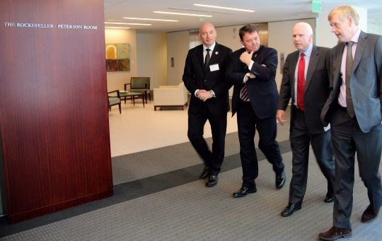 Øystein Bø, John McCain and Ray Mabus