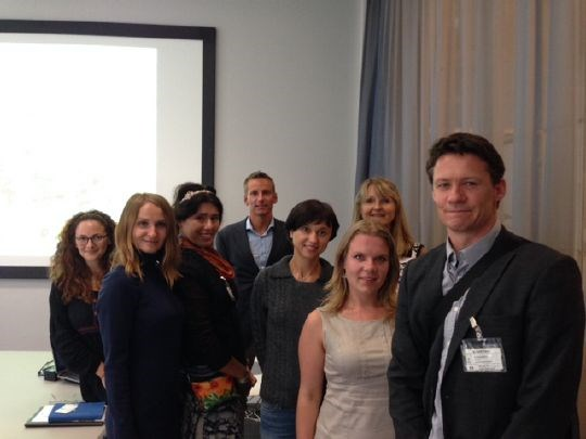 A youth delegation from Ukraine visited the Ministry of Climate and Environment