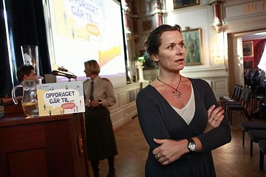 Forfatter Rikke Høgsted.