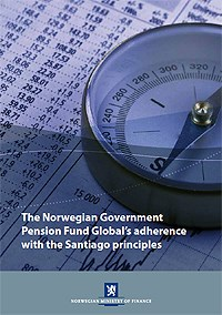 The Norwegian Government Pension Fund Global's adherence with the Santiago principles