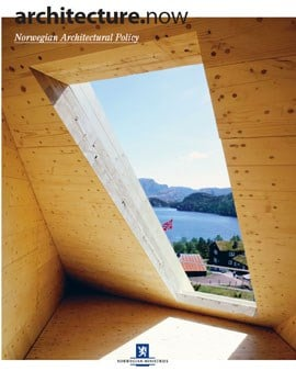 COVER: Photo: Emile Ashley © NAL|ECOBOX. Preikestolhytta (the Pulpit Cabin). Rogaland (Helen and Hard Architects AS)