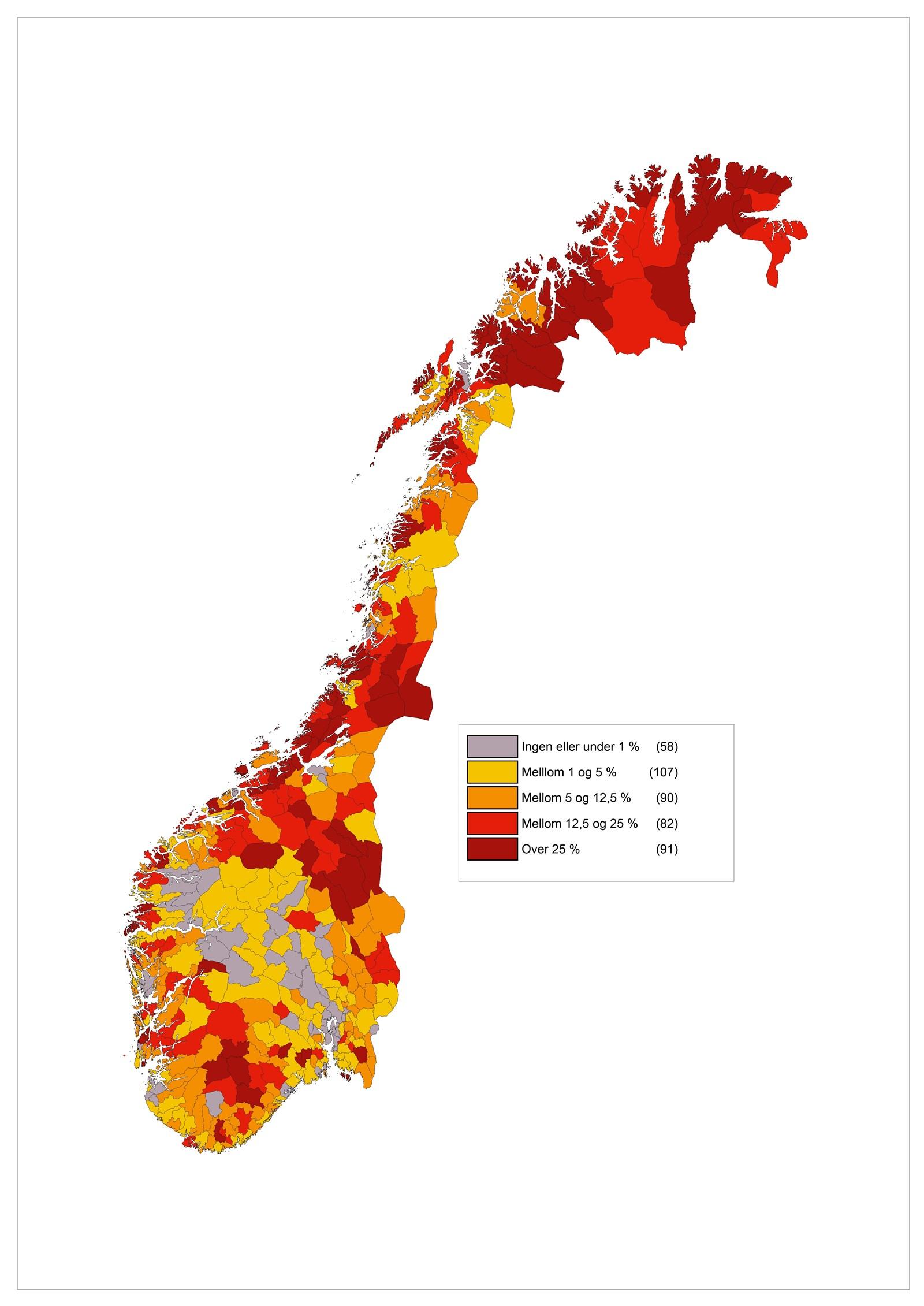 geografisk kart norge Regionale utviklingstrekk 2014   regjeringen.no geografisk kart norge