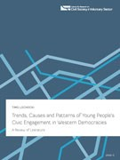 "The Report: ""Trends, Causes and Patterns of Young People's Civic Engagement in Western Democracies"""