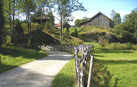 Kulturlandskap: Bøensætre Aremark kommune i Østfold. Foto: Turid Rikheim, Utmarksavdelingen i Akershus og Østfold