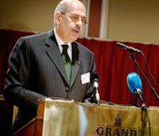 Dr Mohamed ElBaradei, Director General of the International Atomic Energy Agency (IAEA). Photo: MFA, Oslo